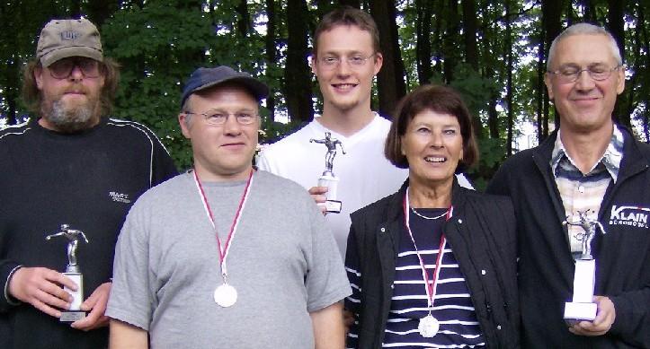 Bernhard Blödner, Ralf Brauner, Christof Steinbrecher, Barbara Riesebieter und Peter Teichmann