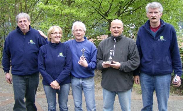 Heiko Oltmanns, Bärbel Berganski, Michael Frantz-Wielstra, Sven Wiemers und Dietmar Averbeck