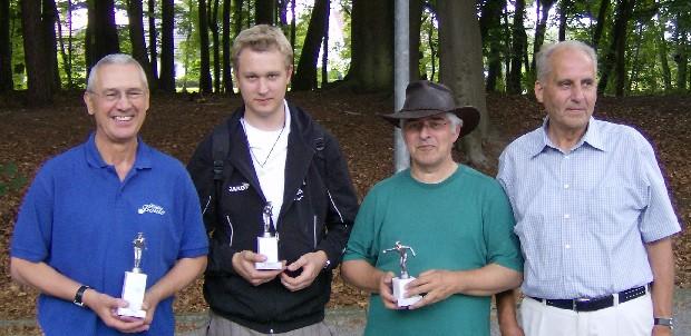 Peter Teichmann,Sebastian Nageler, Wolfgang Mützelfeld und Arnold Buchholz