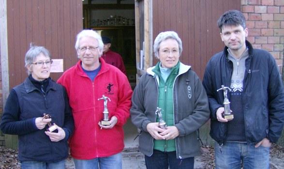 Gabi Teichmann, Michael Frantz-Wielstra, Ursel Skuppin und Frank Günther