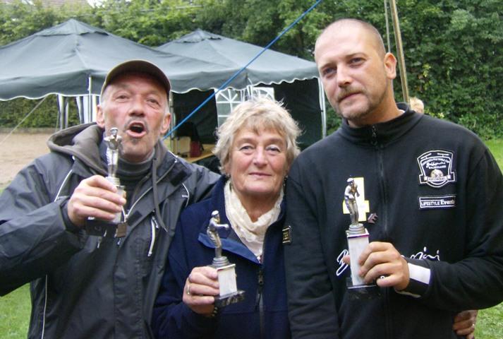 Günter Lünstedt, Rita Asseier und Mike Wiemers