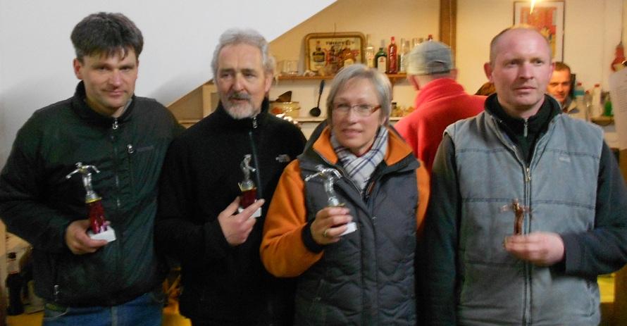Frank Günther, Uwe Schmietenknop-Bolling, Ursel Skuppin und Andreas Bohlen