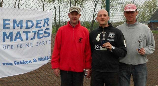 Timo Keller, Mike Wiemers und Gerold Schelenz