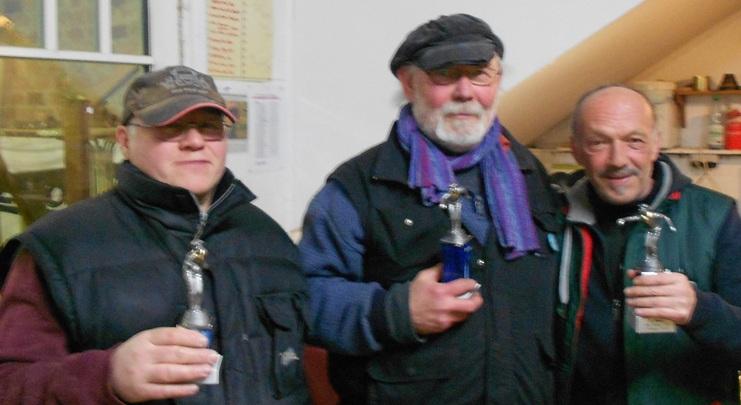 Ralf Brauner, Theo Schenke und Günter Lünstedt