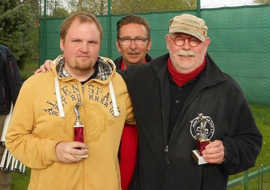 Jascha Buchner, Peter Gerdes und Horst Buldt