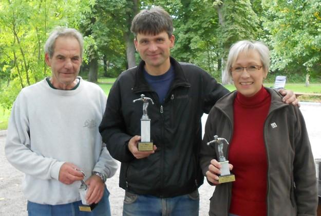 Jürgen Stracke, Frank Günther und Ursel Skuppin